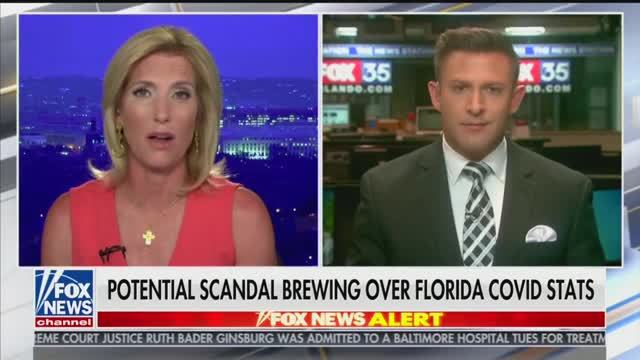 Fox News Questions Why Florida Labs Are Reporting 100% Positivity with Negative Column Left Blank