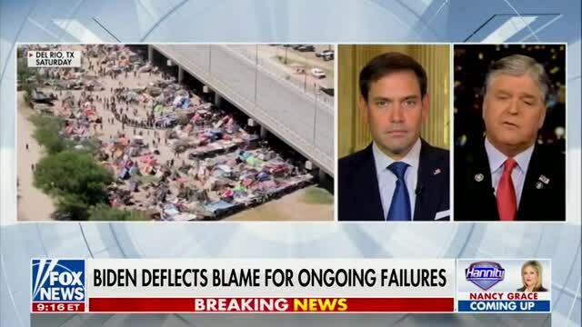 Rubio: Biden Admin. Won't Acknowledge the Migrant Crisis Because They Created It