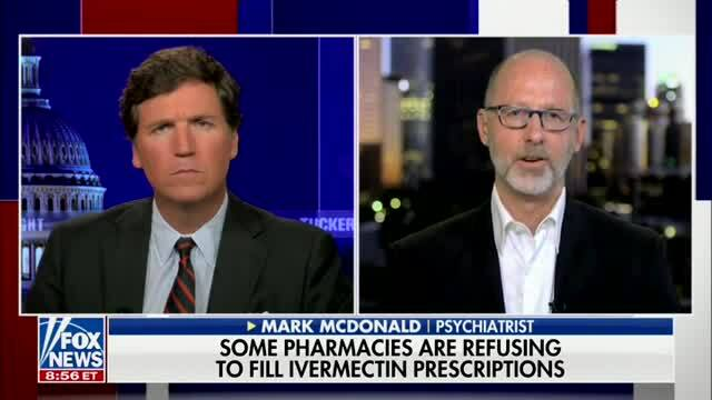 Tucker: You Can Buy a Deadly Drug Like Xanax by the Pound While Access to Ivermectin Is Being Denied