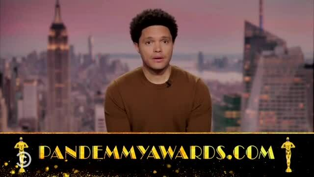 The Daily Show's 'The Pandemmys' Honors the Best Covid Performances in its 2nd Year; Nominees Include 'Vaccines Made Me Magnetic'