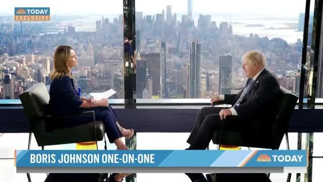 Boris Johnson: U.S. Withdrawal from Afghanistan Was 'Massive Success'