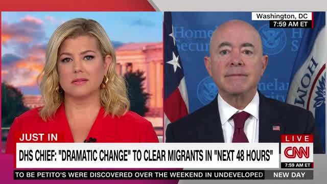 CNN Calls out DHS Sec. Mayorkas for Refusing to Say There Is a Border Crisis: 'Clearly a Crisis'